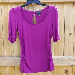 White House Black Market purple pink